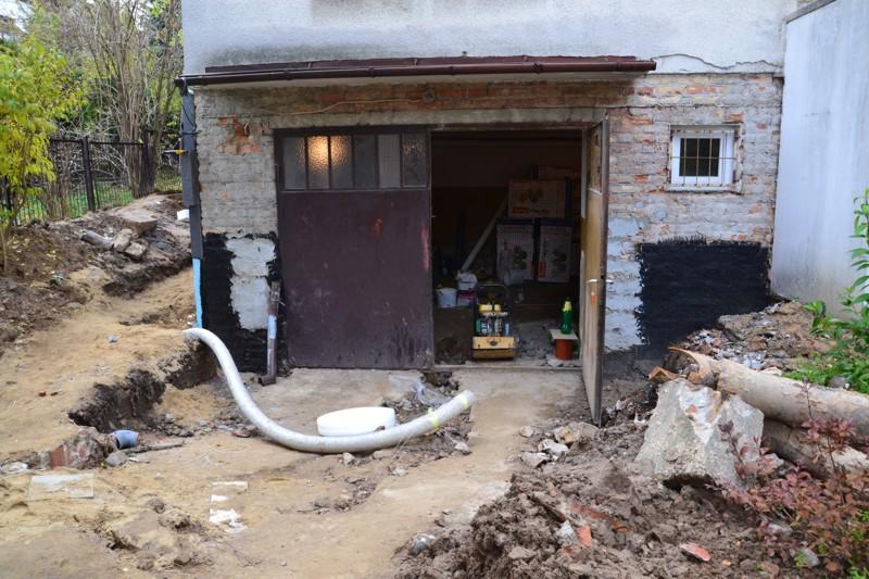 Generalny remont przygotowujący pomieszczenie na nowy magazyn Archiwum
