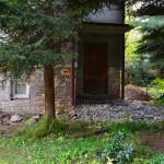 Remont domu. Widok od strony ogrodu