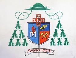 Herb biskupa Adama Wodarczyka