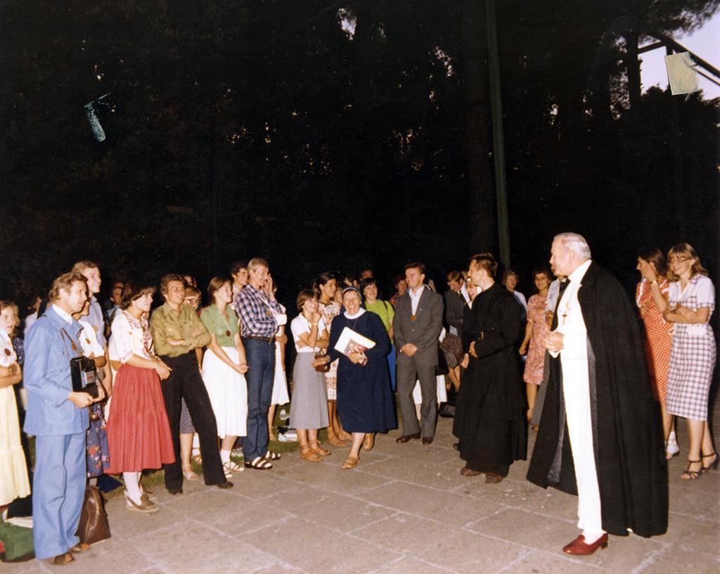 Castel Gandolfo, Pogodny Wieczór, 12 VIII 1979 r.