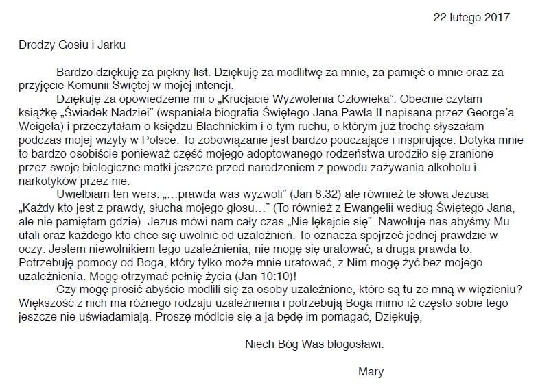 Tłumaczenie-listu