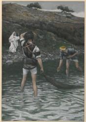 James Tissot, Powołanie św. Piotra i św. Andrzeja