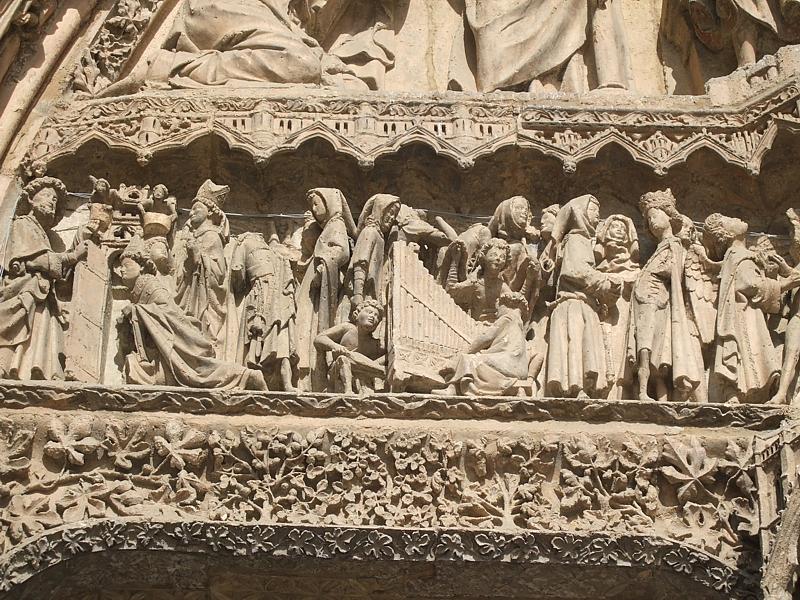 Katedra z Leon - niebo, fot. Agnieszka Salamucha