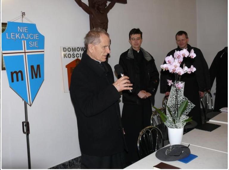 Świadectwo ks. Władysława Jadama, fot. Ryszard Szymonik