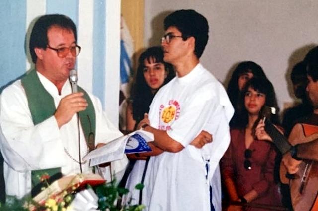 z prawej o. Vanderley Oliveira
