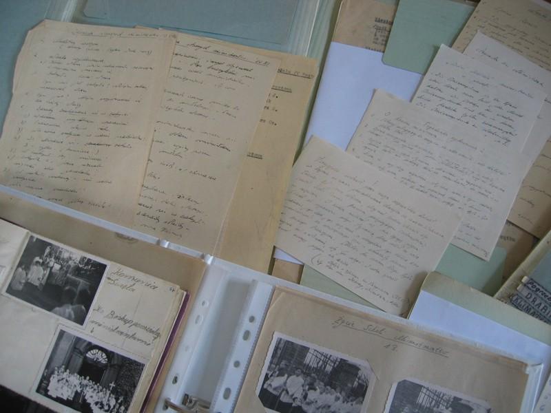 Przykład dokumentacji przechowywanej w Archiwum - rękopisy ks. F. Blachnickiego