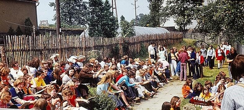 Spotkanie Młodzieży w Großhartmannsdorf w roku 1973
