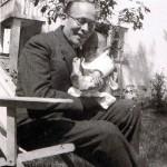 Ks. Wojciech z ojcem, ze zbiorów p. Barbary Danielskiej
