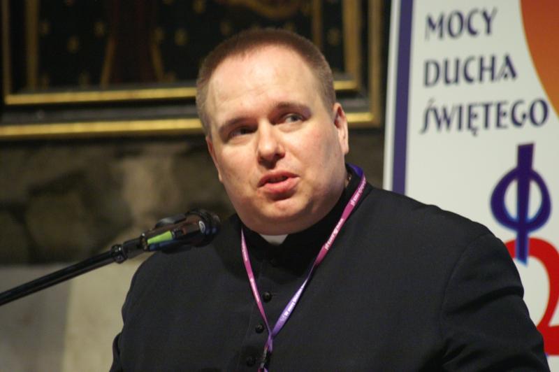 ks. Tomasz Tomaszewski, fot. Michał Szepietowski